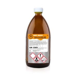 Krom-a-fag acid gél ipari festékeltávolító